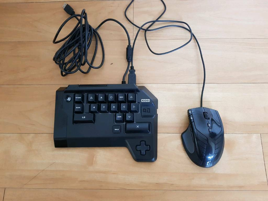 Hori TAC4 Keyboard and mouse for ps4 like XIM   in Poole, Dorset   Gumtree