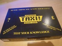 EDINBURGH TAXI BOARD GAME. IN ORIGINAL BOX AND NEVER PLAYED WITH. TEST YOUR KNOWLEDGE OF EDINBURGH