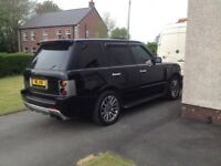 Must sell- low tax- overfinch - Range Rover