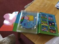 Peppa pig set of 6 dvds £8 can deliver if you live local call 07812980350
