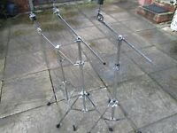Drums - Boom Cymbal Stands/Arms - 5 Available