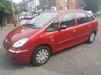 1.6 DIESEL PICASSO 2005 YEAR 119000 MILES HISTORY MOT TILL 25/06/2019 MANUAL 3 MONTHS WARRANTY