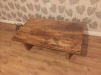 Coffee Table - full wood and ex Harvey product