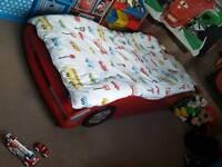 Single kids car bed
