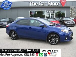 2014 Toyota Corolla S - bluetooth, HTD seats, sunroof, LOCAL, no