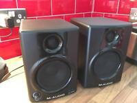 M-Audio AV40 speakers