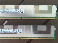Samsung 32GB ECC PC3L-12800 RAM memory ( 8pcs available )