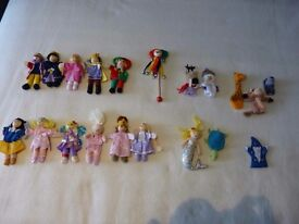 Finger puppets - Royalty, Fairy tale and miscellaneous
