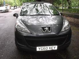 Peugeot 207, 2010, Manual, 1.4 cc, 2 Doors, Grey, 35000 mils, MOT, low cost tax & insurance. £3299