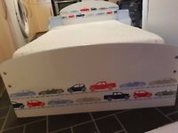 Car/vehicle toddler bed