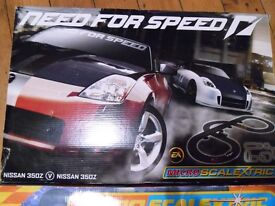 "2 x Micro Scalextric ""Need for Speed "" and ""Mighty Minis BMW"""