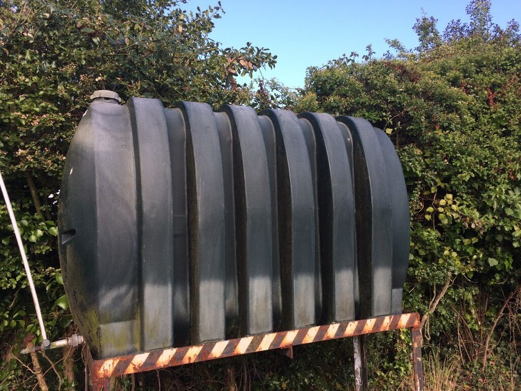 Heating oil tankin Warsash, HampshireGumtree - Plastic central heating oil tank, green 48 inches x 22 inches x 72 inches