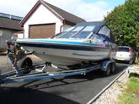 19ft fletcher gts speed boat