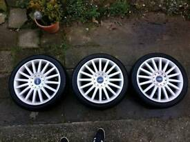 Mondeo ST alloys with tyres