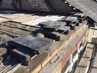 600 Reclaimed Welsh Roof Slates 80p each