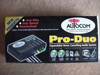 Autocom Pro-Duo Audio System. New & Boxed Never Been Fitted