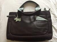 Brand new, unused Radley fabric and leather handbag