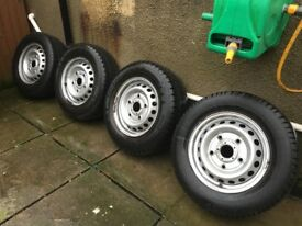 Ford Transit Custom Wheels and tryres