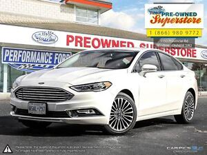 2017 Ford Fusion SE>>>NAV/AWD/leather<<<