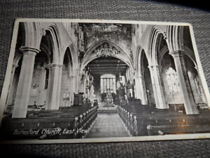 Bottesford Church East View LEICS   Posted 1939  POSTCARD VINTAGE GOOD CONDITION