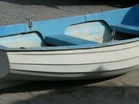 10ft ROWING DINGHY WITH OPTIONAL OUTBOARD MOTOR