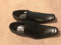 Men's black smart shoes brand new size 9.5 (44) & 9 (43)