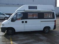 rare end bed camper with new/ish mot. Equiped for long time travel.