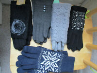 Ladies woolen high quality fashion gloves, ideal Christmas present