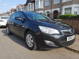 Vauxhall Astra 2012 1.7 diesel black 1 previous owner £5700 ovno