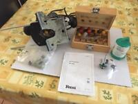 Ferm plunge router with accessories