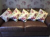 Laura Ashley Home Cushions beige cream floral