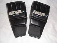 Thai Training Punching Bag Half Mitts Sparring Gloves