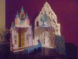Disney Frozen Ice Palace Castle Playset/Anna & Elsa Dollhouse