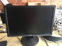 """Asus VW202SR 20"""" LCD Monitor with power cable £25"""