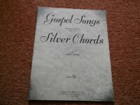 Gospel Songs Especially written for the Silver Chords by Lindy Janes Sheet Music Book