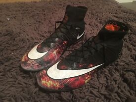 Nike superfly football boots size 10