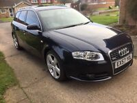 STUNNING 2007 AUDI A4 AVANT TDI S-LINE PADDLESHIFT AUTO SWAP/PX CONSIDERED CAN ADD CASH