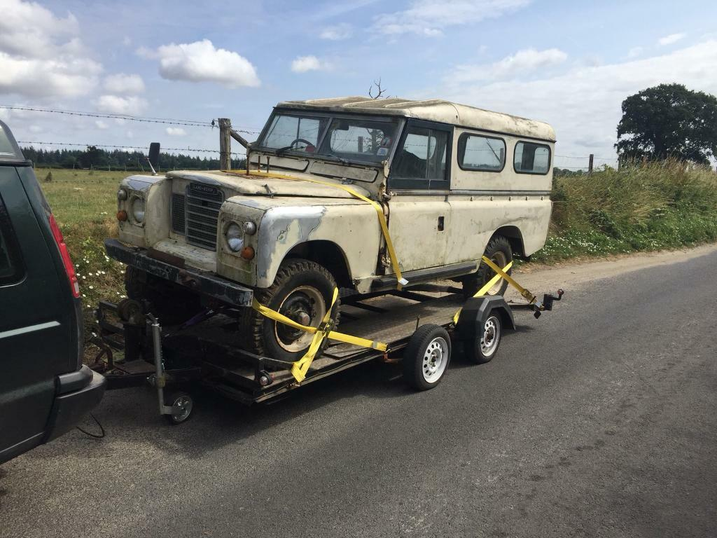 Land Rover Series 2a 109 U201d Project