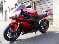Yamaha YZF R1 05' 5VY, Red, UPGRADED, Low Mileage, London