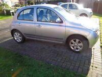 2004,Nissan Micra SK Top of range. Very economic diesel