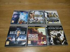 PS3 6 Game Bundle Rated PG16+