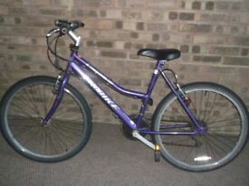 ladies Probike caprice quality bicycle all works good ride
