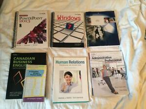 Algonquin Office Admin Course Books--NEW PRICE -Mint condtion