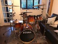 5 piece Tama Rockstar Drum Kit