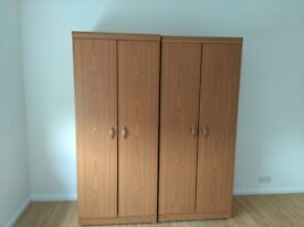 3 Double wardrobes for sale