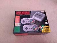 Brand new SNES. Super Nintendo mini