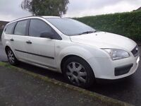 55 reg ford focus 1.6 tdci diesel estate NO MOT for spares or repairs runs and drives DRIVEAWAY