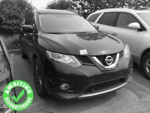 2016 Nissan Rogue SV AWD| Pan Sun| Nav| Heat Leath| RV Cam| BT|