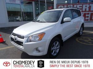 2012 Toyota RAV4 Limited V6 CUIR TOIT MAGS