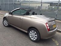 NISSAN MICRA VISIA 1.3 C+C = 2008 REG LOW MILEAGE = CONVERTIBLE = £1790 ONLY =